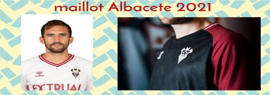 maillot Albacete 21-22