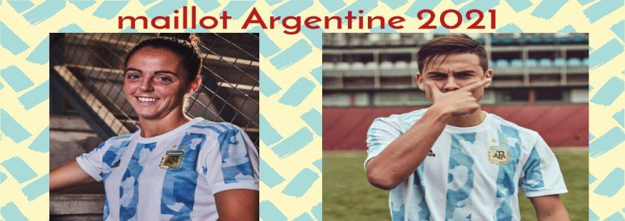 maillot Argentine 20-21