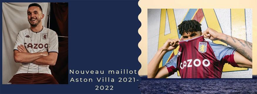 maillot Aston Villa 21-22