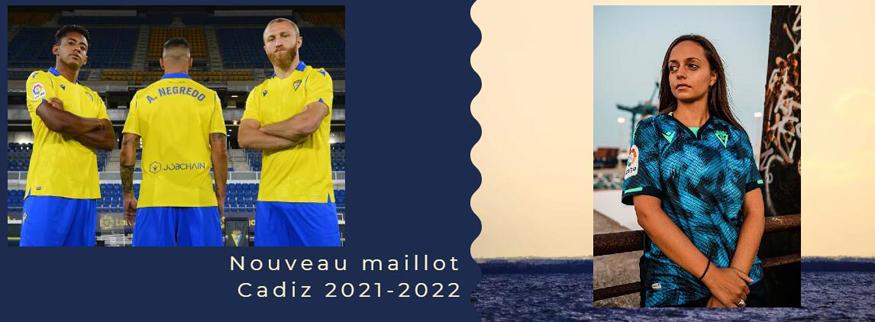 maillot Cadiz 21-22