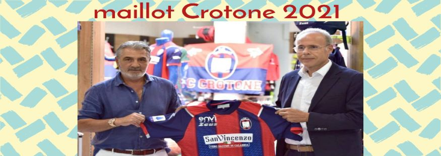 maillot Crotone 21-22
