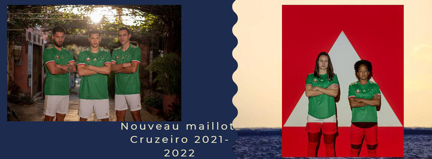 maillot Cruzeiro 21-22