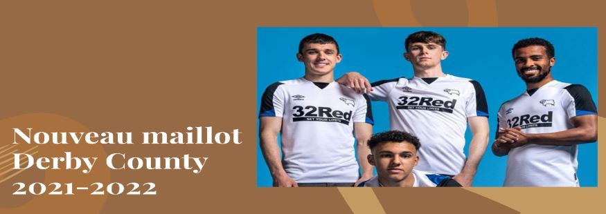maillot Derby County 21-22