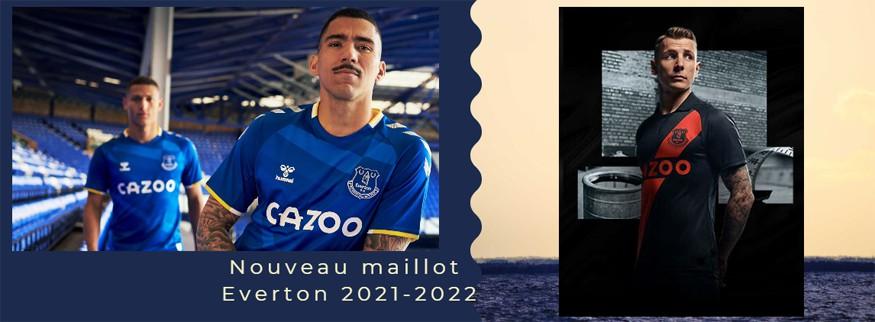maillot Everton 21-22