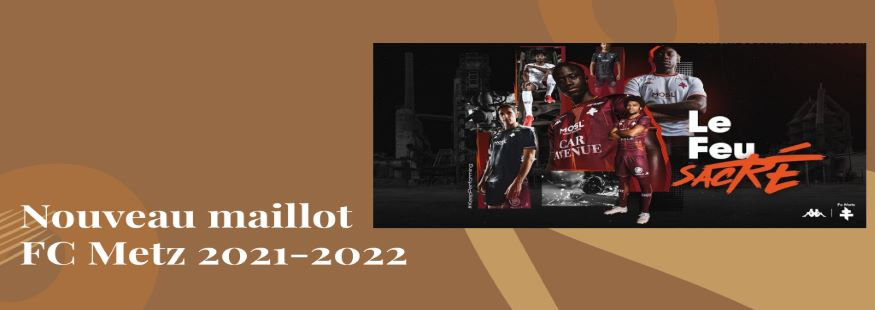 maillot FC Metz 21-22
