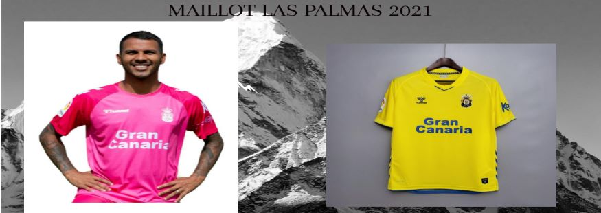 maillot Las Palmas 21-22