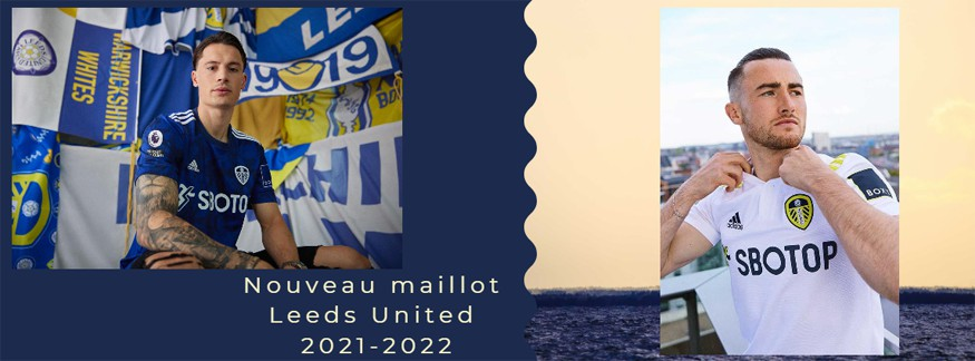 maillot Leeds United 21-22