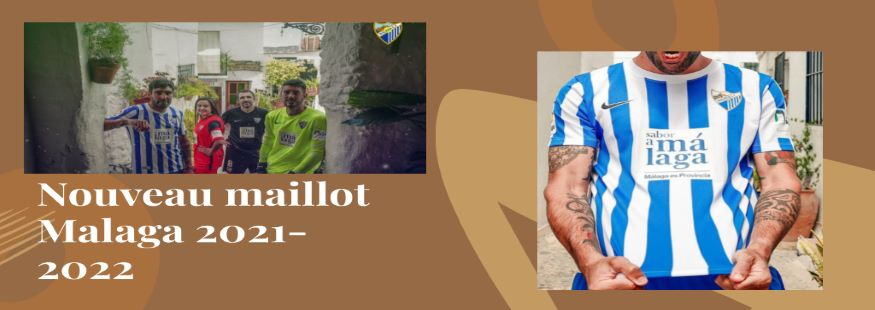 maillot Malaga 21-22