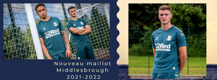 maillot Middlesbrough 21-22