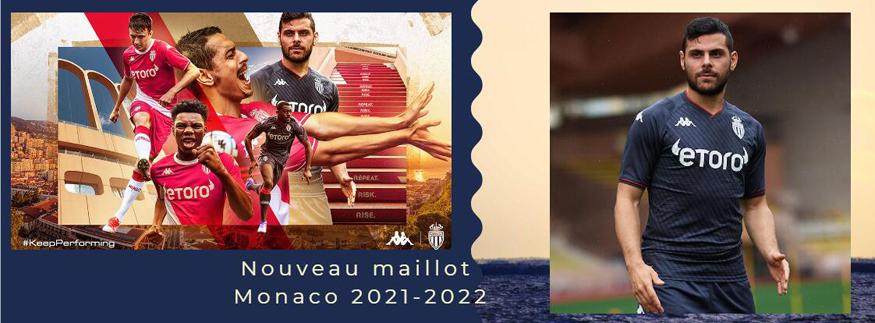 maillot Monaco 21-22