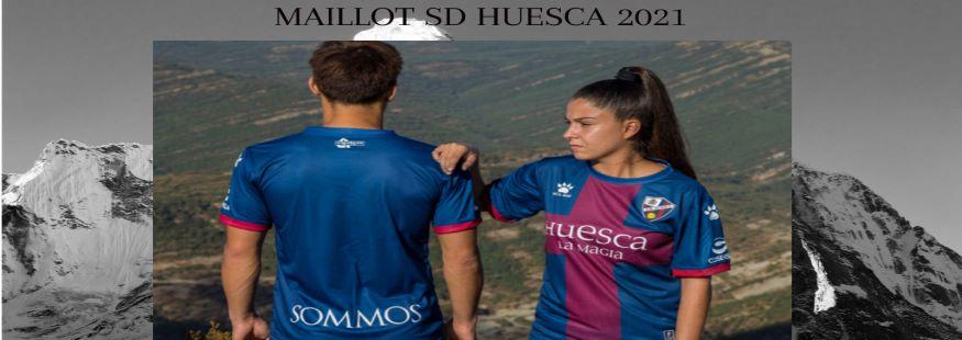 maillot SD Huesca 21-22