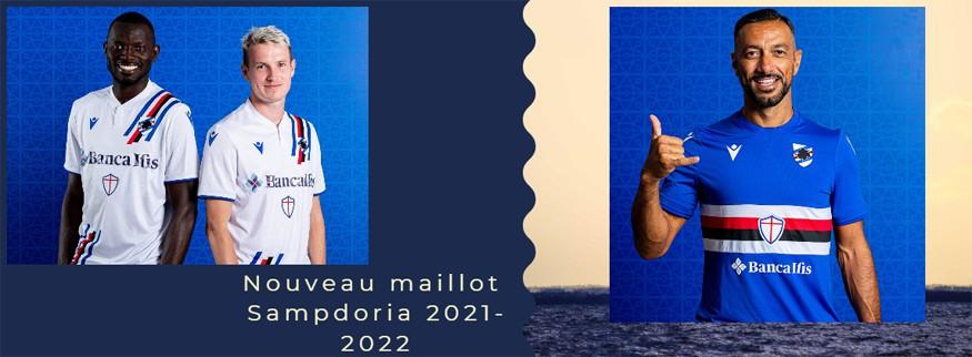 maillot Sampdoria 21-22