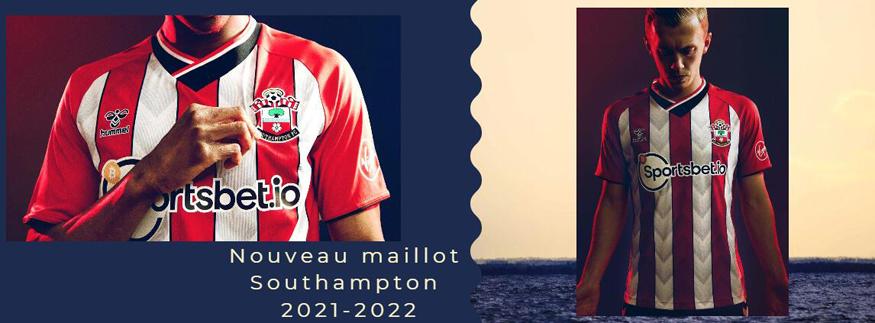 maillot Southampton 21-22