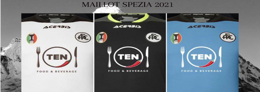 maillot Spezia 21-22
