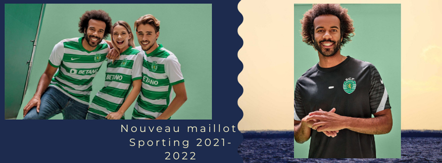 maillot Sporting 21-22