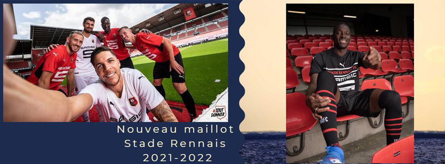 maillot Stade Rennais 21-22