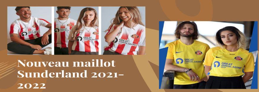 maillot Sunderland 21-22