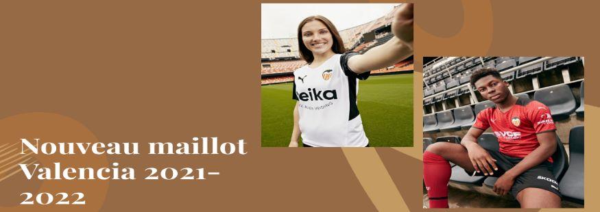 maillot Valencia 21-22