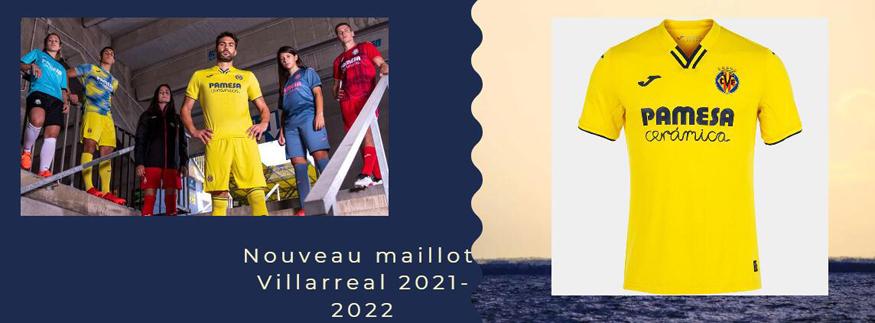 maillot Villarreal 21-22