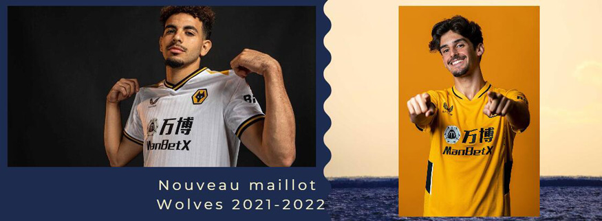 maillot Wolves 21-22